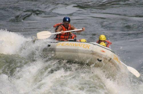 Raft down zim